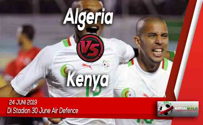 Prediksi Algeria vs Kenya 24 Juni 2019