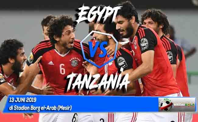 Prediksi Egypt vs Tanzania 13 Juni 2019