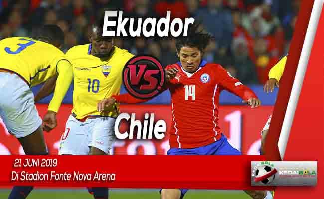 Prediksi Ekuador vs Chile 22 Juni 2019