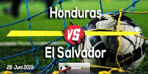 Prediksi Honduras vs El Salvador 26 Juni 2019