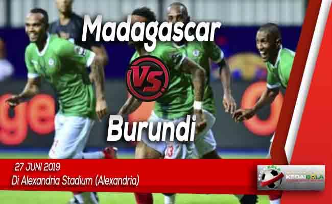 Prediksi Madagascar vs Burundi 27 Juni 2019