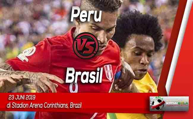 Prediksi Peru vs Brasil 23 Juni 2019