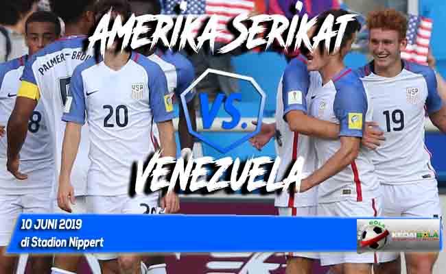 Prediksi Amerika Serikat vs Venezuela 10 Juni 2019