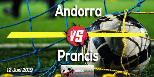 Prediksi Andorra vs Prancis 12 Juni 2019
