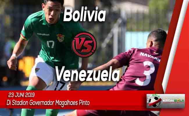 Prediksi Bolivia vs Venezuela 23 Juni 2019