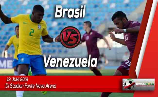 Prediksi Brasil vs Venezuela 19 Juni 2019