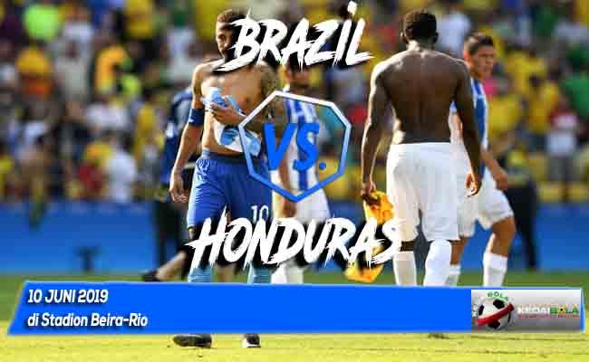 Prediksi Brazil vs Honduras 10 Juni 2019