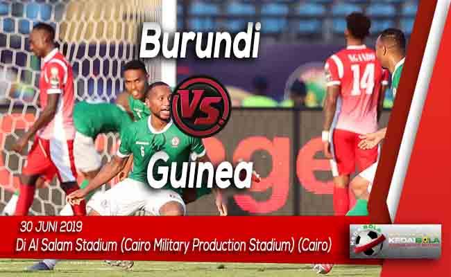Prediksi Burundi vs Guinea 30 Juni 2019