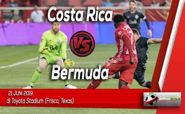 Prediksi Costa Rica vs Bermuda 21 Juni 2019