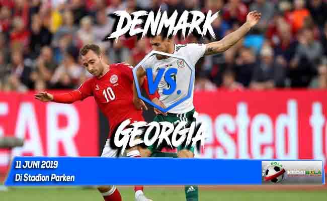 Prediksi Denmark vs Georgia 11 Juni 2019