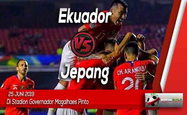 Prediksi Ekuador vs Jepang 25 Juni 2019