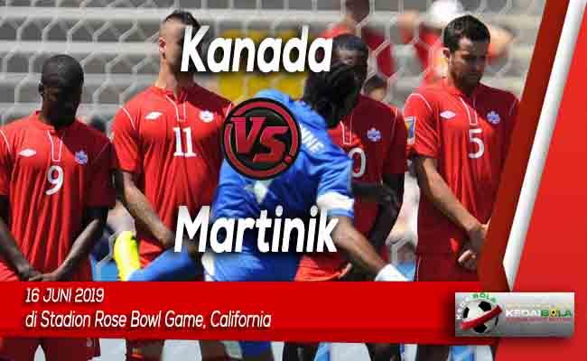 Prediksi Kanada vs Martinik 16 Juni 2019
