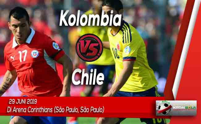 Prediksi Kolombia vs Chile 29 Juni 2019
