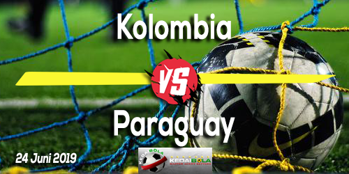 Prediksi Kolombia vs Paraguay 24 Juni 2019