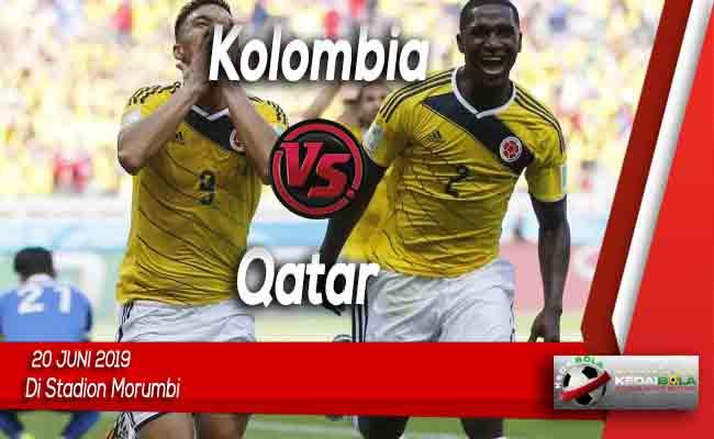 Prediksi Kolombia vs Qatar 20 Juni 2019