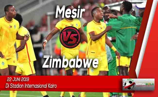 Prediksi Mesir vs Zimbabwe 22 Juni 2019