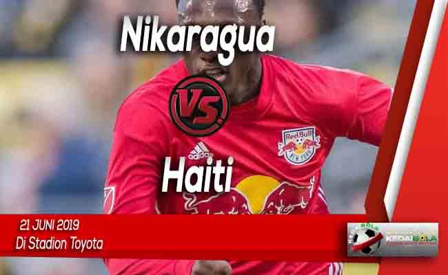 Prediksi Nikaragua vs Haiti 21 Juni 2019