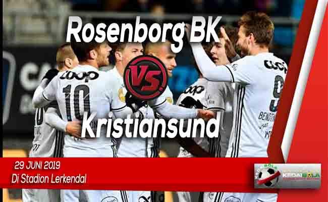 Prediksi Rosenborg BK vs Kristiansund 29 Juni 2019