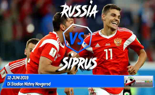 Prediksi Russia vs Siprus 12 Juni 2019