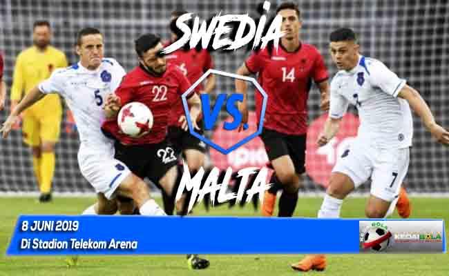 Prediksi Swedia vs Malta 8 Juni 2019