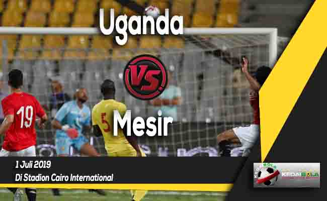 Prediksi Uganda vs Mesir 1 Juli 2019