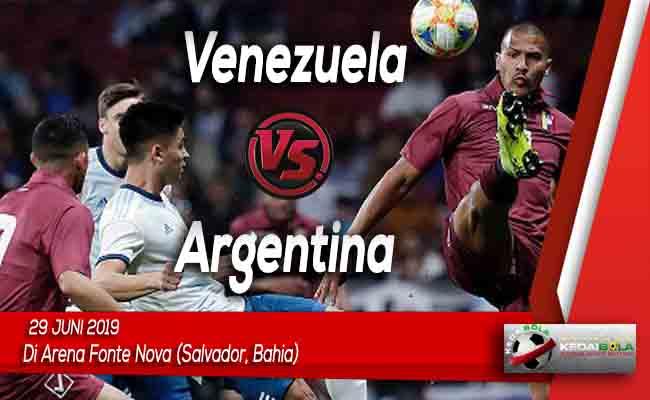 Prediksi Venezuela vs Argentina 29 Juni 2019