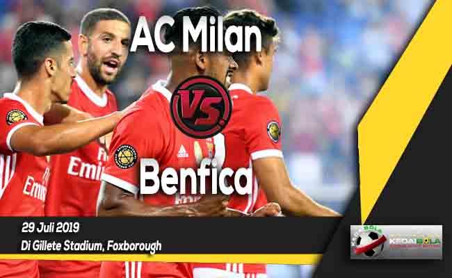 Prediksi AC Milan vs Benfica 29 Juli 2019