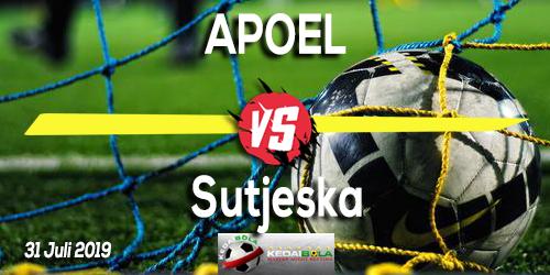 Prediksi APOEL vs Sutjeska 31 Juli 2019