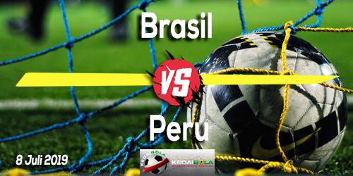 Prediksi Brasil vs Peru 8 Juli 2019