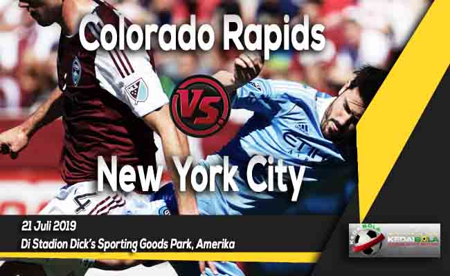Prediksi Colorado Rapids vs New York City 21 Juli 2019