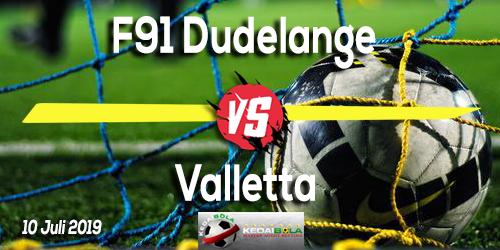 Prediksi F91 Dudelange vs Valletta 10 Juli 2019