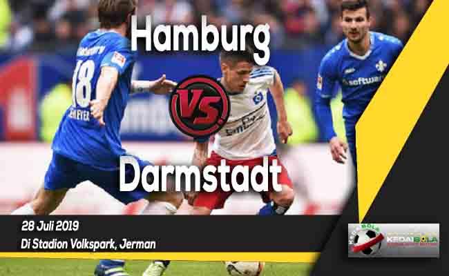 Prediksi Hamburg vs Darmstadt 28 Juli 2019