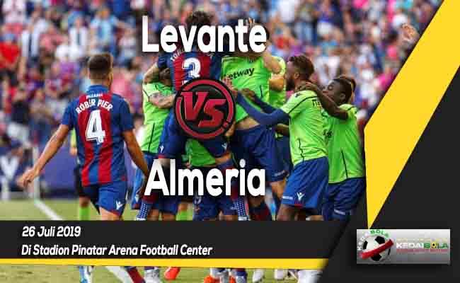 Prediksi Levante vs Almeria 26 Juli 2019