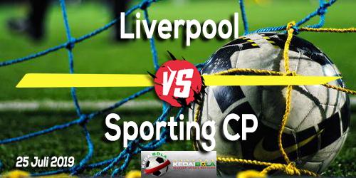 Prediksi Liverpool vs Sporting CP 25 Juli 2019