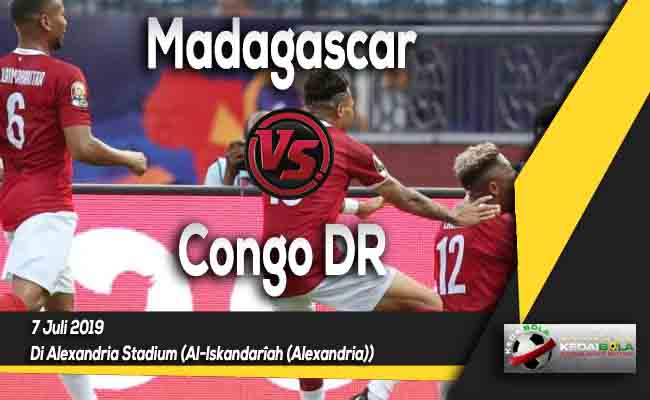 Prediksi Madagascar vs Congo DR 7 Juli 2019