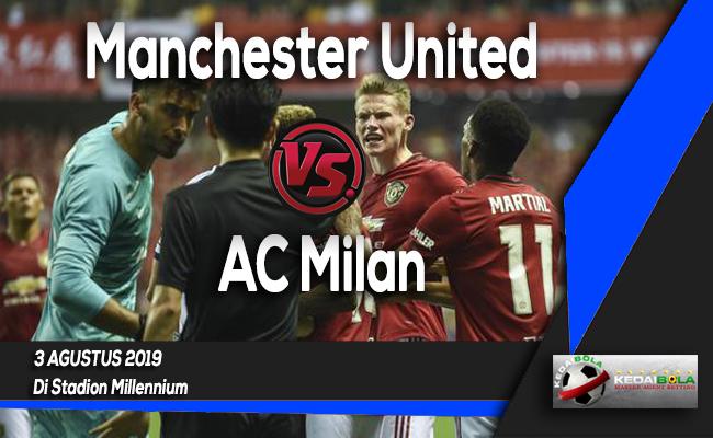 Prediksi Manchester United vs AC Milan 3 Agustus 2019
