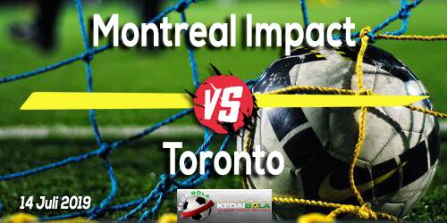 Prediksi Montreal Impact vs Toronto 14 Juli 2019