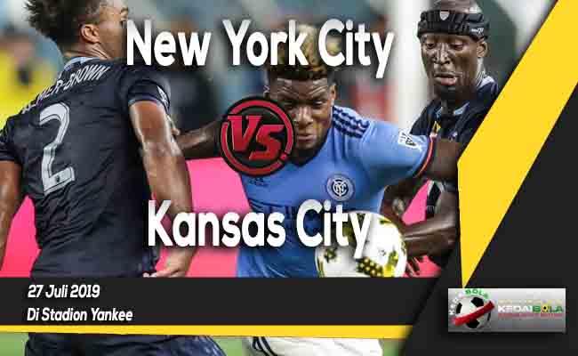 Prediksi New York City vs Kansas City 27 Juli 2019