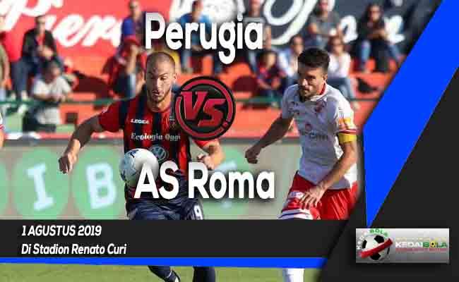 Prediksi Perugia vs AS Roma 1 Agustus 2019