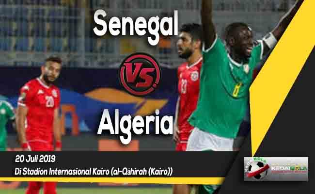Prediksi Senegal vs Algeria 20 Juli 2019