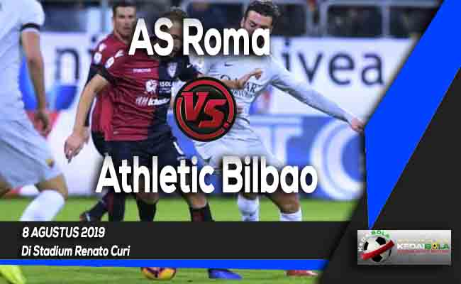 Prediksi AS Roma vs Athletic Bilbao 8 Agustus 2019