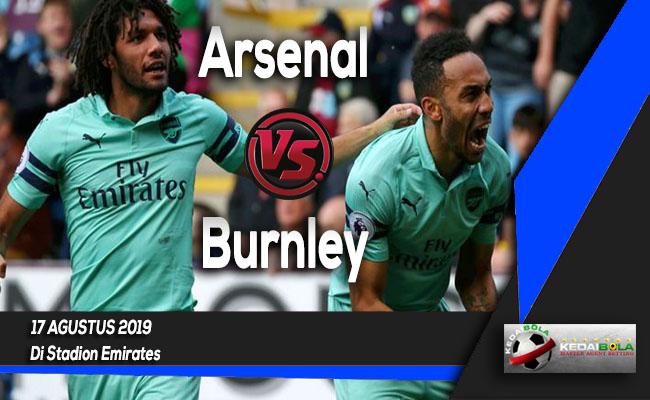Prediksi Skor Bola Arsenal vs Burnley 17 Agustus 2019