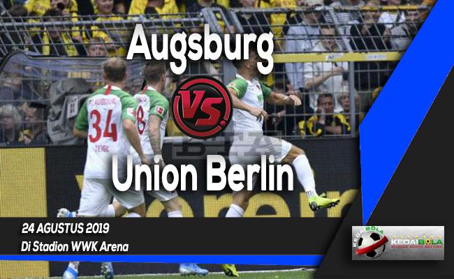 Prediksi Skor Bola Augsburg vs Union Berlin 24 Agustus 2019