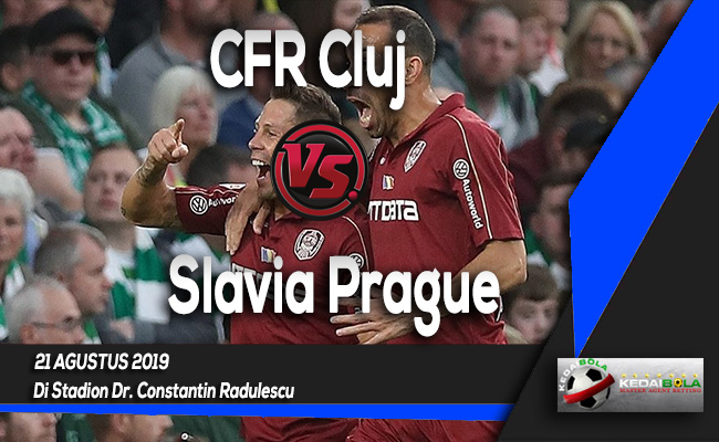 Prediksi Skor Bola CFR Cluj vs Slavia Prague 21 Agustus 2019