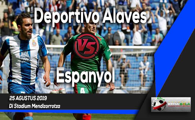 Prediksi Skor Bola Deportivo Alaves vs Espanyol 25 Agustus 2019