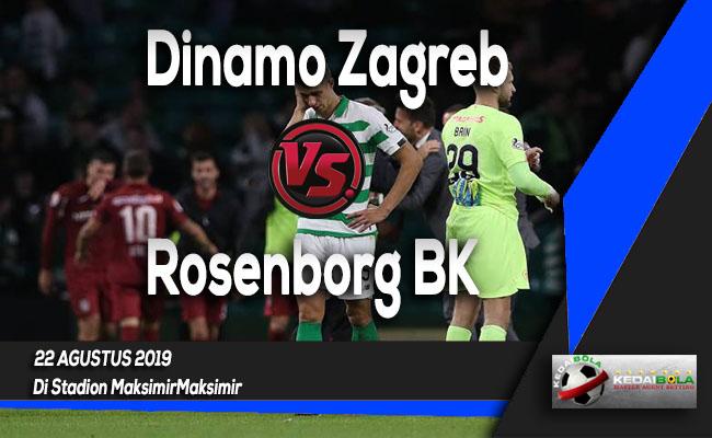 Prediksi Skor Bola Dinamo Zagreb vs Rosenborg BK 22 Agustus 2019