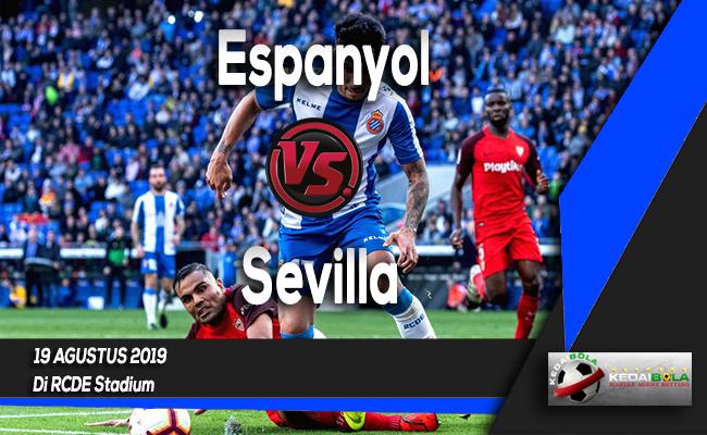 Prediksi Skor Bola Espanyol vs Sevilla 19 Agustus 2019