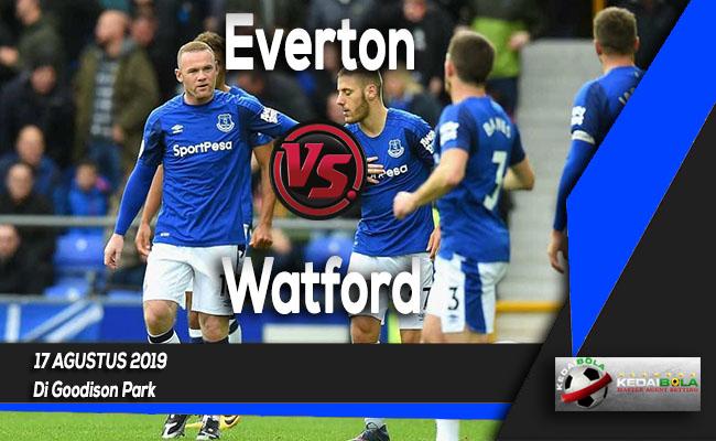 Prediksi Skor Bola Everton vs Watford 17 Agustus 2019
