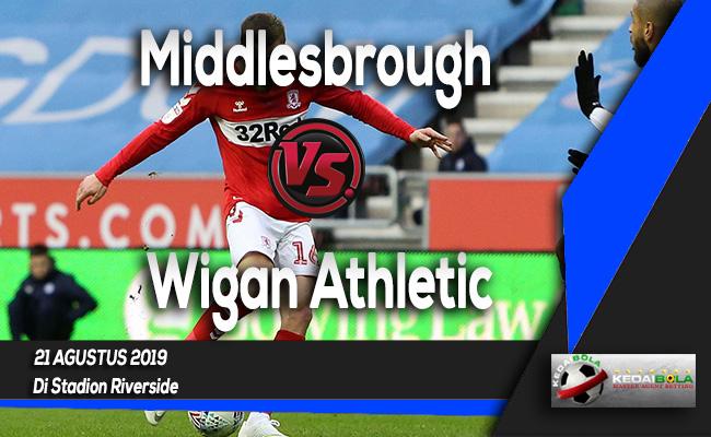 Prediksi Skor Bola Middlesbrough vs Wigan Athletic 21 Agustus 2019