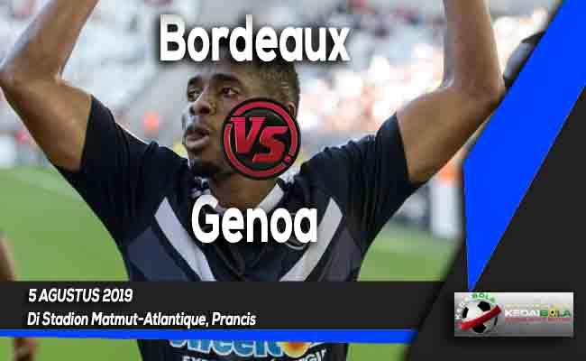 Prediksi Bordeaux vs Genoa 5 Agustus 2019